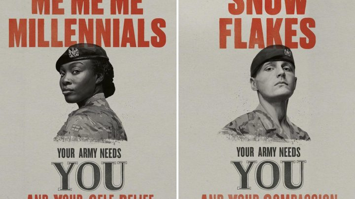 Army launches new recruitment campaign after last 'Snow Flake' push was ridiculed by troops