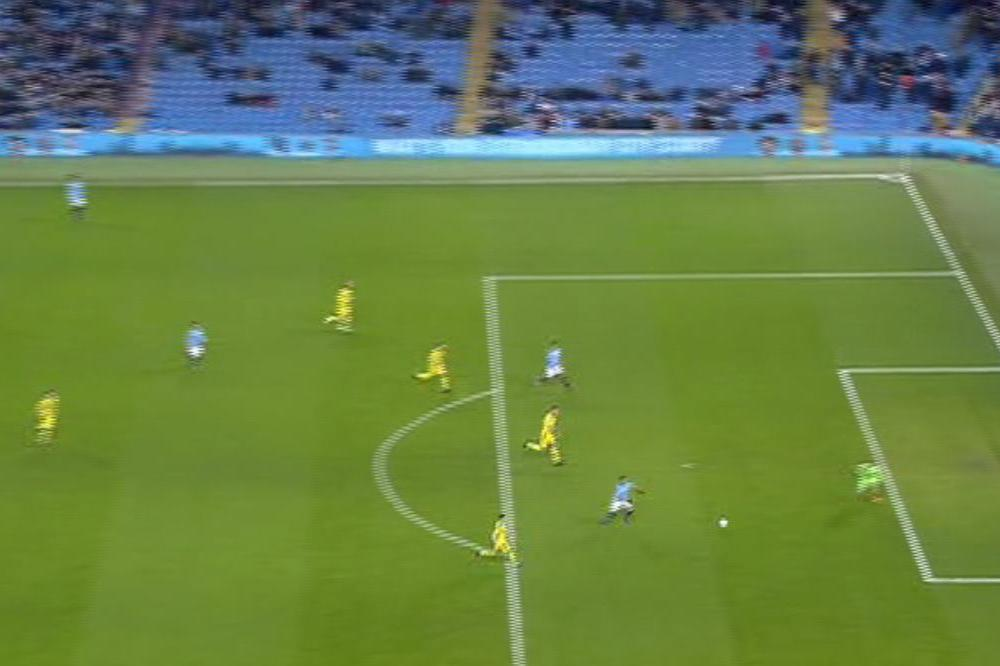 Man City's draw lowest attendance of the season with just 32,089 there to see them crush Burton