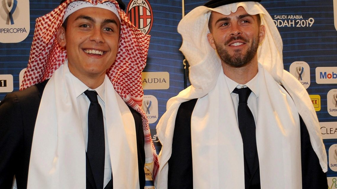 Juventus arrive in Saudi Arabia for controversial Super Cup clash with Milan