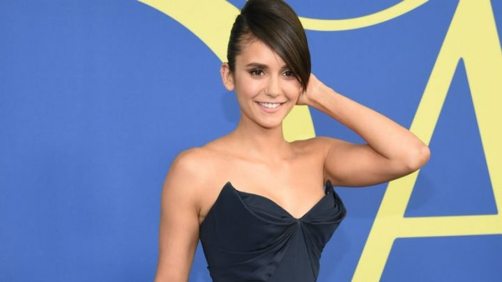 Nina Dobrev Hijacks Superfan's Phone And Takes A Cleavage Pic Before Sending It To Fan's Mom On Snapchat