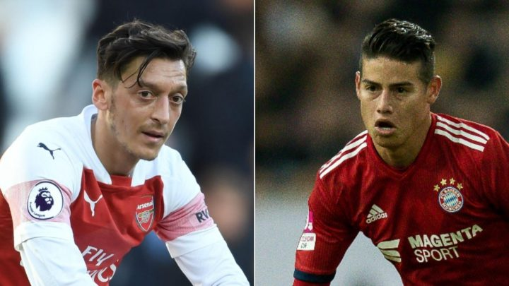 Arsenal target loan transfer for James Rodriguez… and it will only cost them £3m for Mesut Ozil replacement