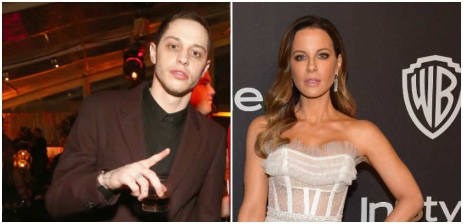 Pete Davidson Reportedly 'Flirted' With British Actress Kate Beckinsale At Golden Globes Party