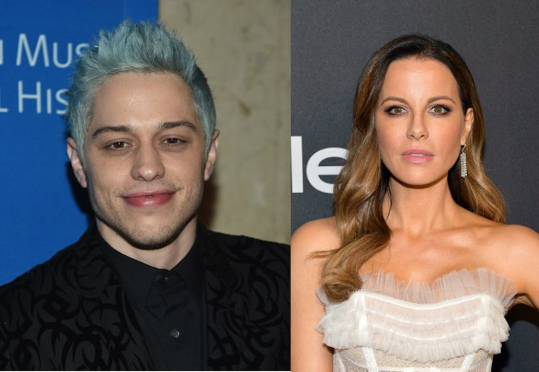 Pete Davidson Seen Flirting With Actress Kate Beckinsale At Golden Globes After-Party