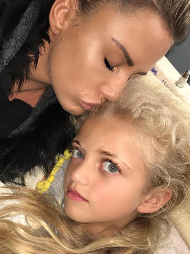 Katie Price reunites with Princess after kids call her 'embarrassing'