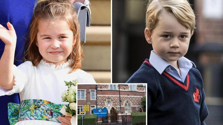 Princess Charlotte to join Prince George at £6k-a-term St Thomas' Battersea School in London in September