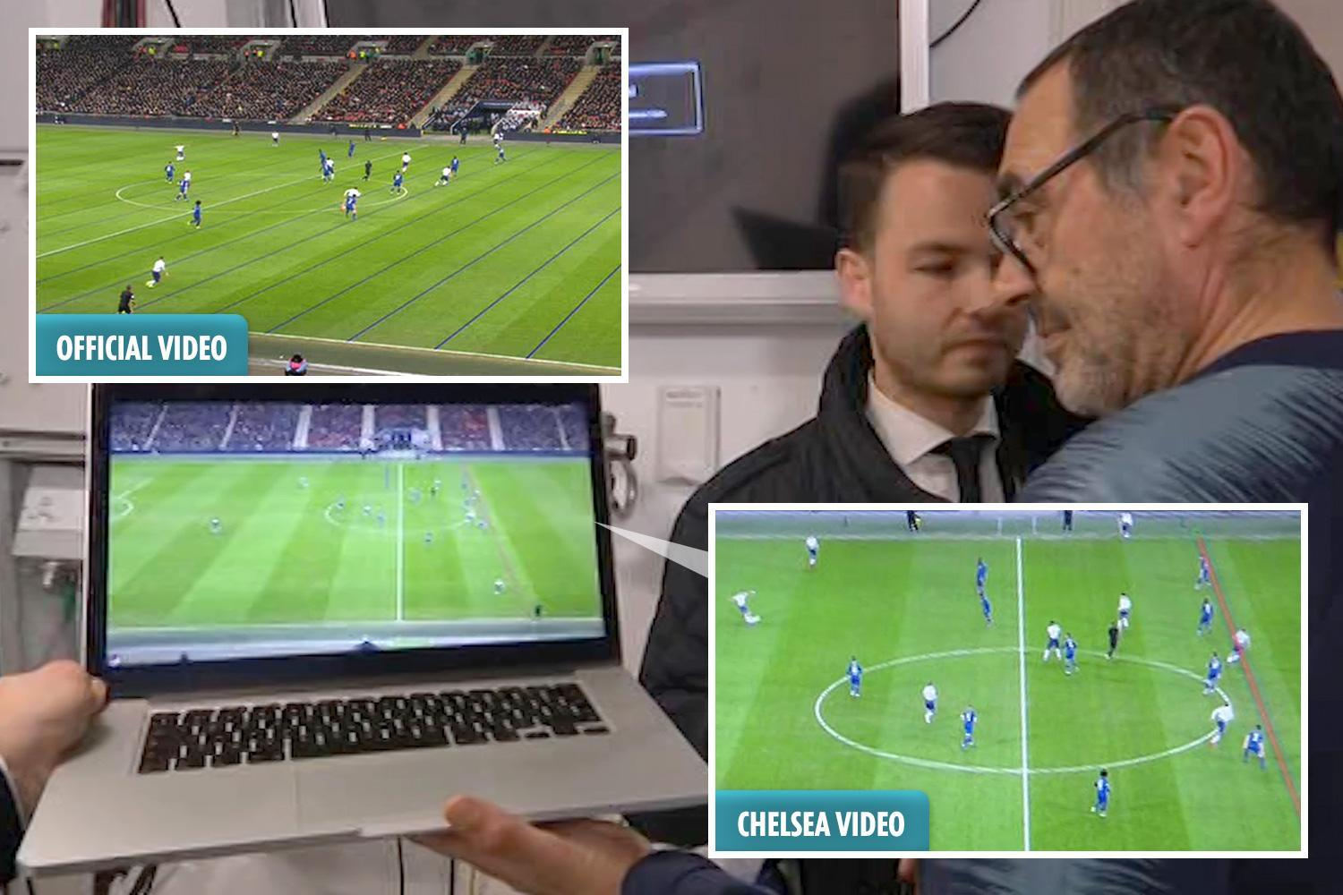 Chelsea 'proof' Harry Kane was offside rubbished by VAR refs' chiefs