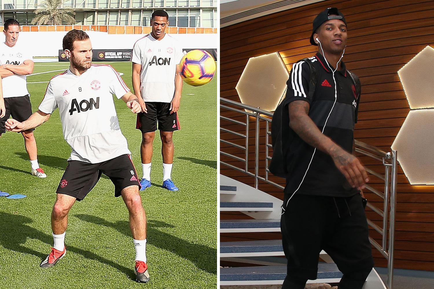 Man Utd in talks with Juan Mata and Ashley Young over contract extensions