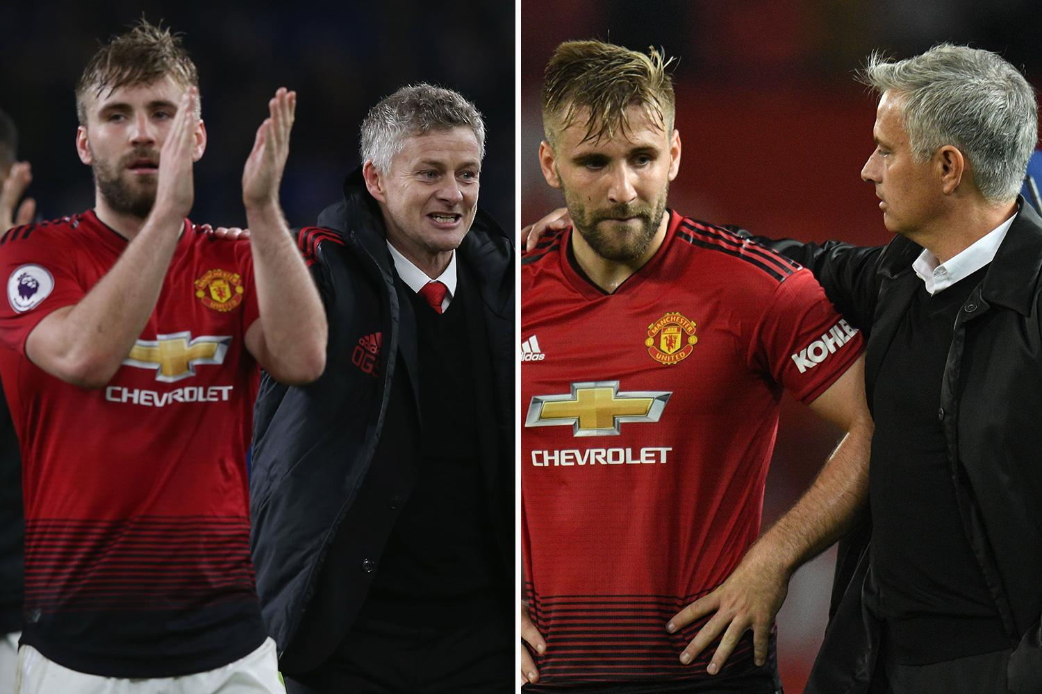 Luke Shaw to stay at Manchester United as he takes £2.8m mansion off market following Mourinho's sacking
