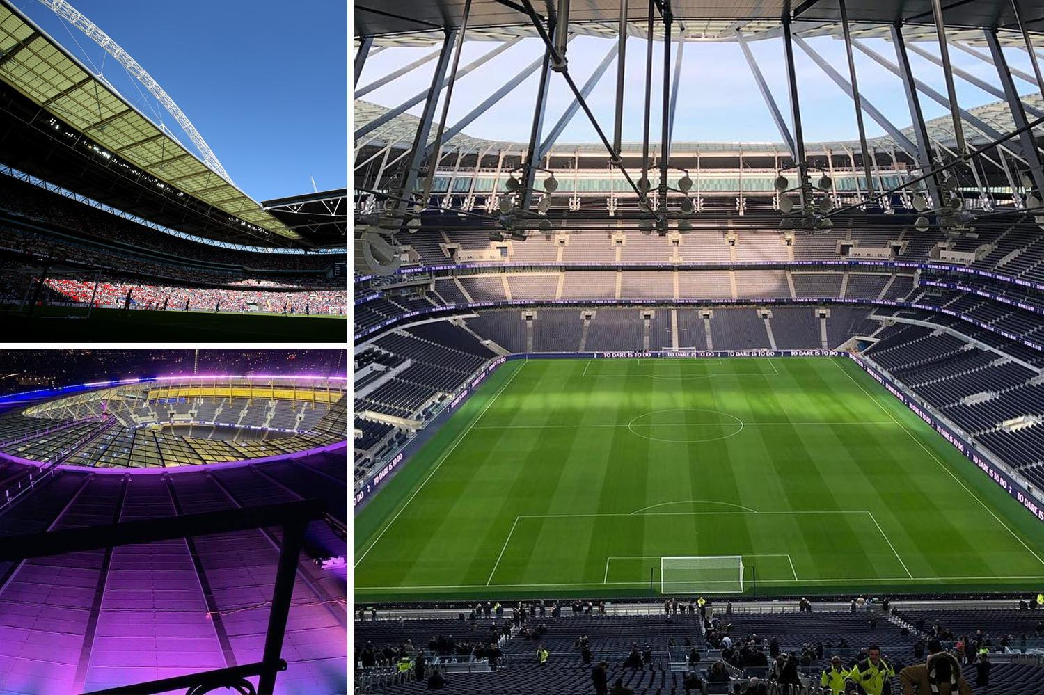 Spurs confirm Wembley stay until March but could host Arsenal clash at new stadium