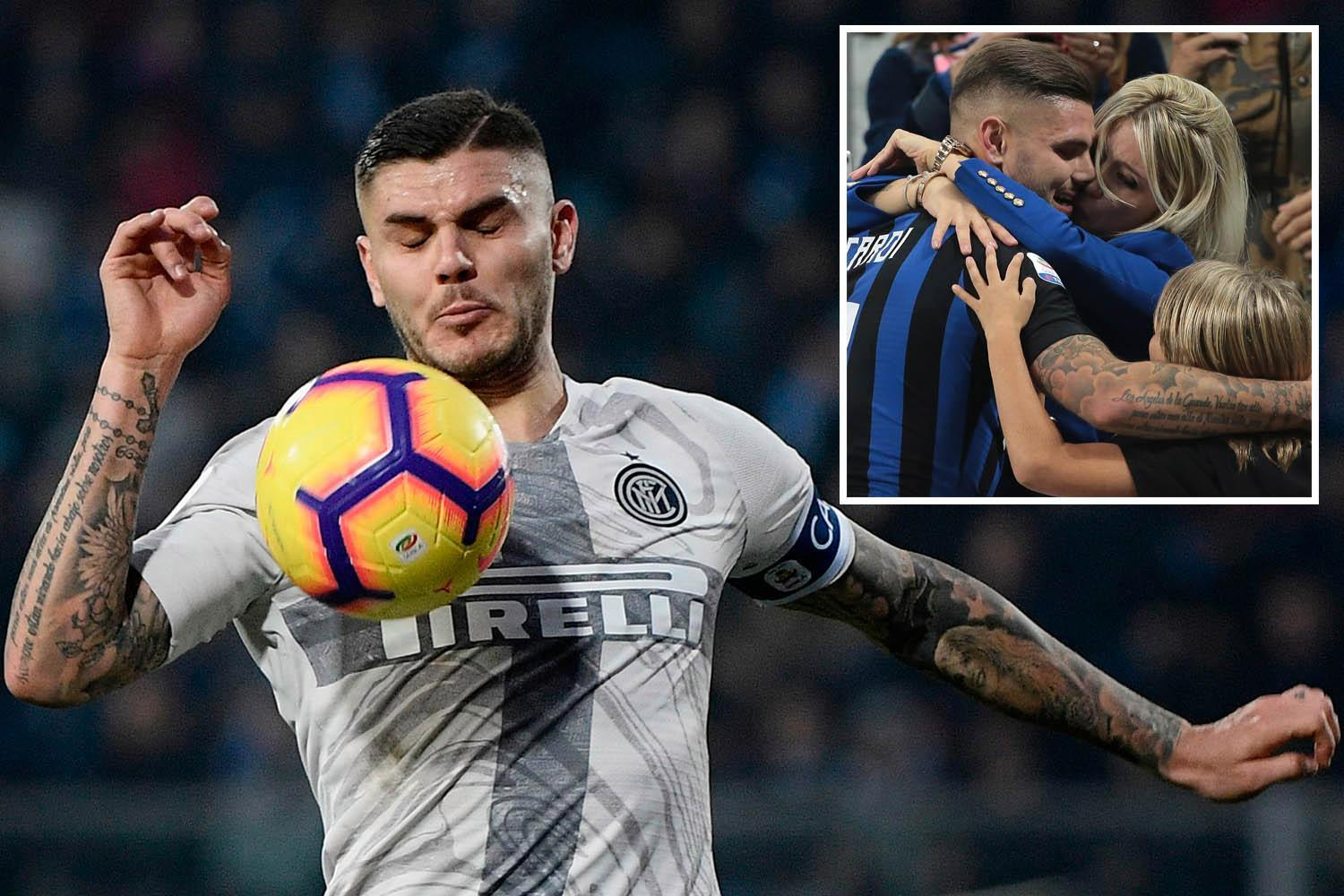 Inter refuse to budge over Chelsea target Icardi's £170k-a-week wage demands with talks set next week