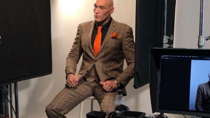 Chiselled Tyson Fury looks incredible in GQ shoot a day after Wilder revealed the pair are set to announce rematch