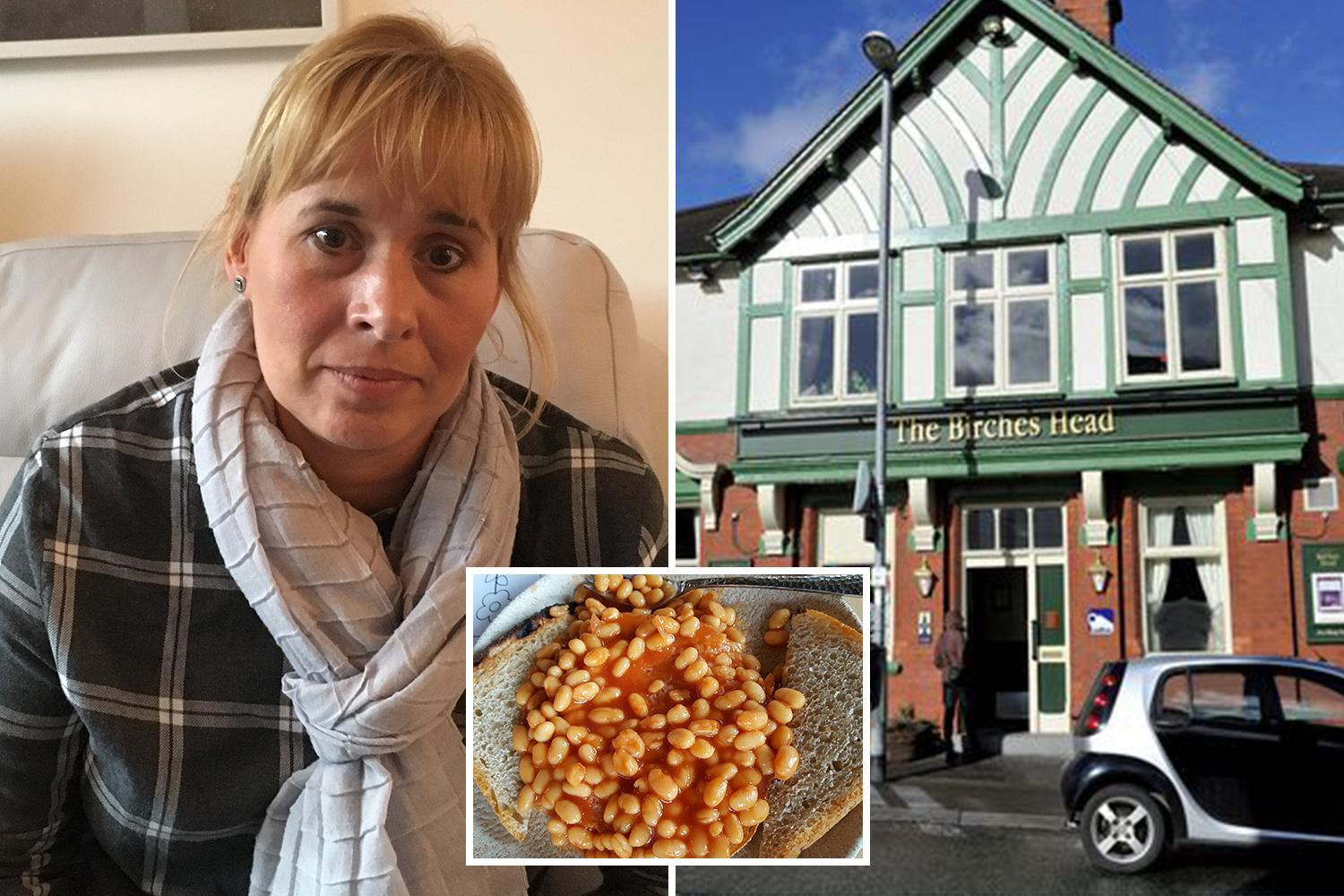 Family forced to have beans on toast for Christmas dinner after 90-minute wait to be served at pub sparks walk-out