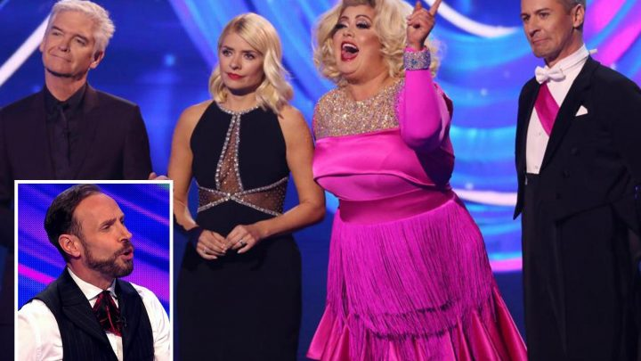 What is the cause of the Gemma Collins and Jason Gardiner's feud on Dancing on Ice and did Jason sell a story on her?