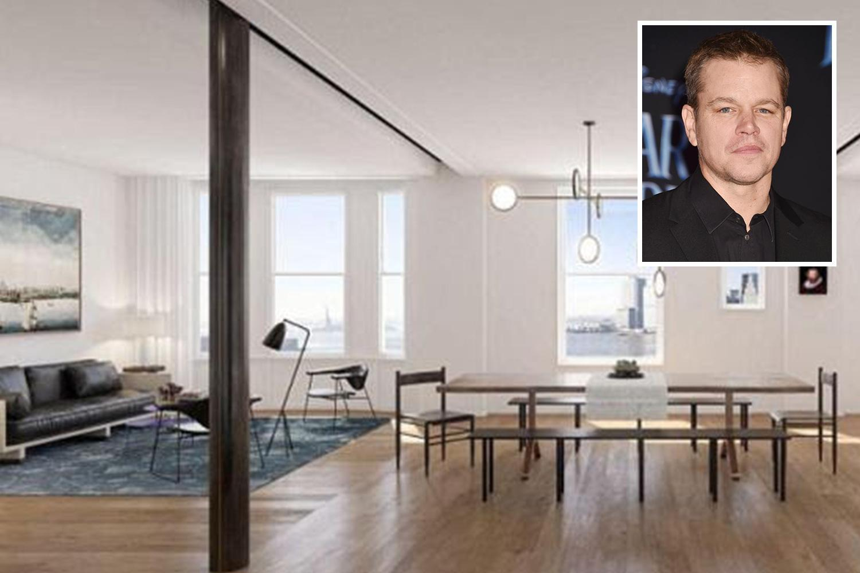 Inside Matt Damon's recordbreaking £13million penthouse ...