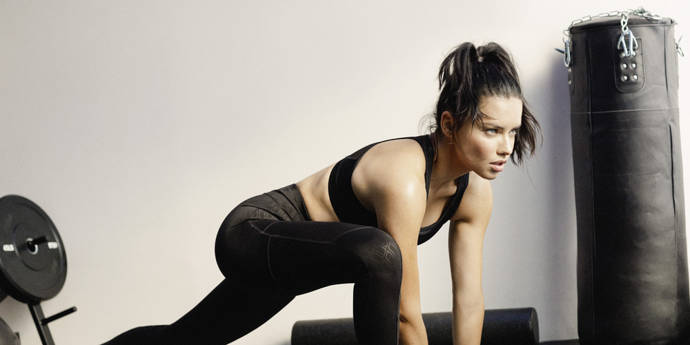 Adriana Lima Looks Fit in Puma's Mode XT Campaign!