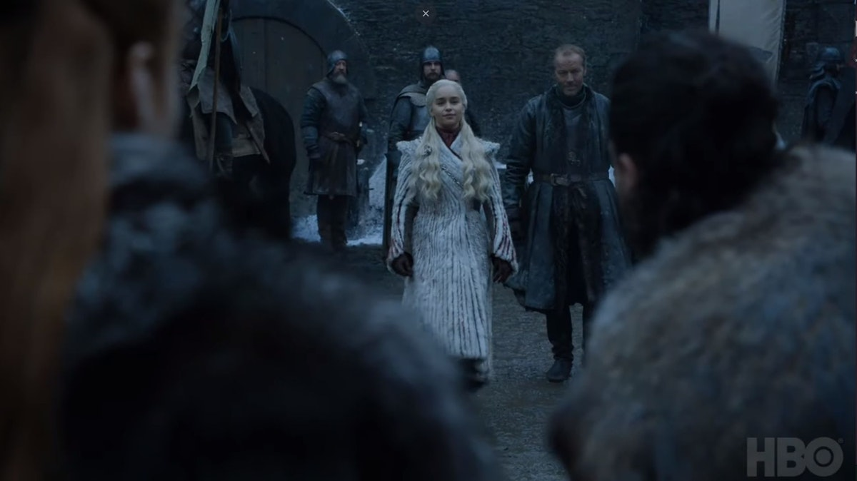 This New 'GOT' Season 8 Clip Shows Sansa & Dany Meeting, So Hold Onto Your Dragons