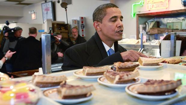 National Pie Day: Chrissy Teigen, Barack Obama & More Celebs Digging Into Slices Of The Dessert