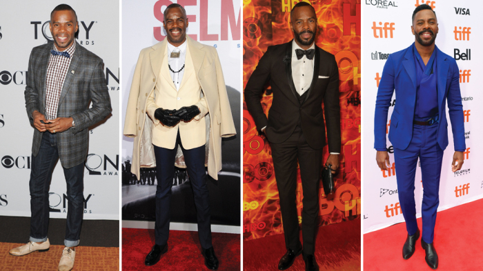 'Beale Street' Star Colman Domingo Reflects on His Red Carpet Fashion Choices