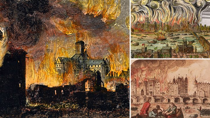 When was the Great Fire of London, how did it start, what caused it and where was worst affected by it?