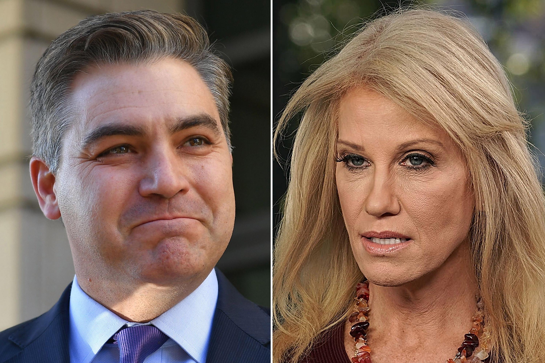 Kellyanne Conway calls Jim Acosta 'smart ass' in heated exchange