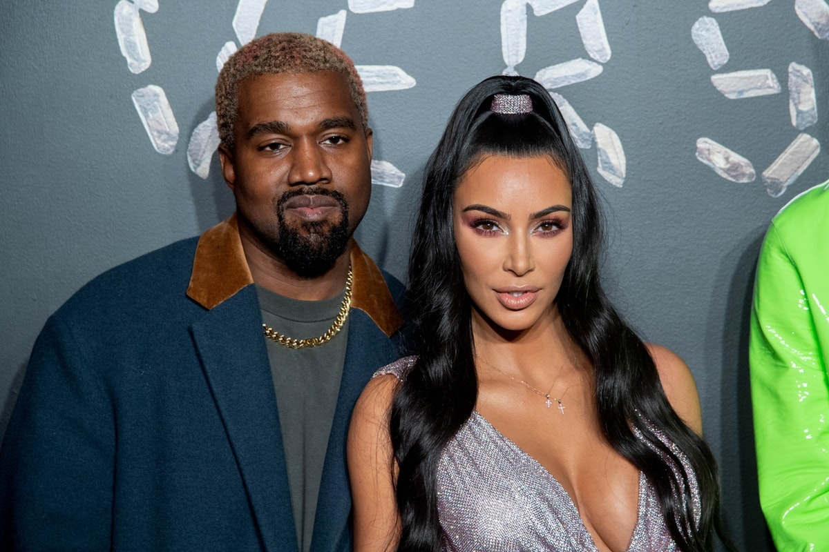 Kim Kardashian & Kanye West Are All Smiles In This New Year's Photo