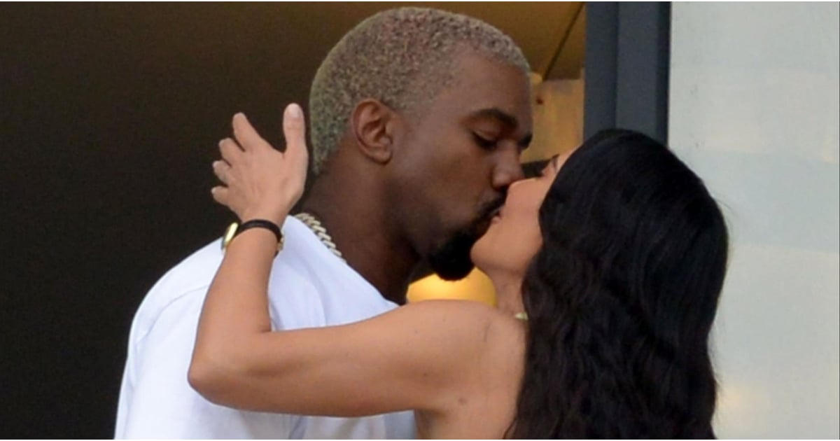 A Little PDA, Eh? Kim and Kanye Make Out in Miami After Announcing Major Baby News
