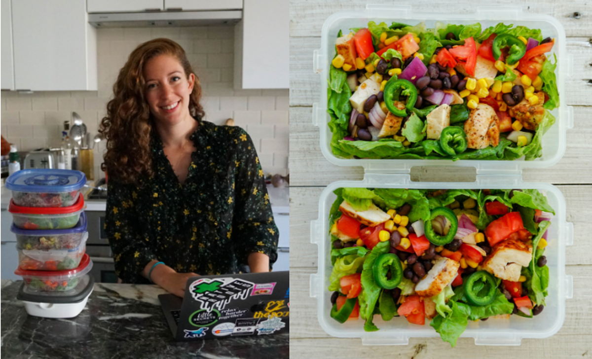 The @WorkWeekLunch Instagram Account Is Changing The Food Prep Game One Meal At A Time