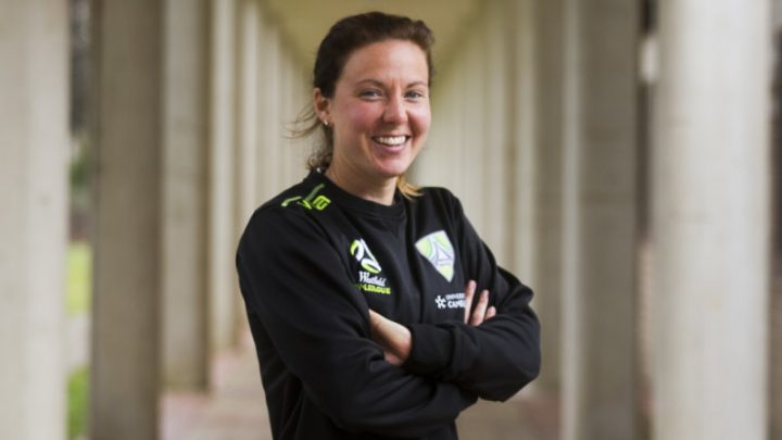 Captain Corsie named Canberra United player of the year