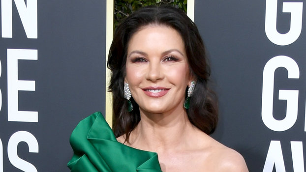 Catherine Zeta-Jones (and Her Leg) Came to Party at the 2019 Golden Globes