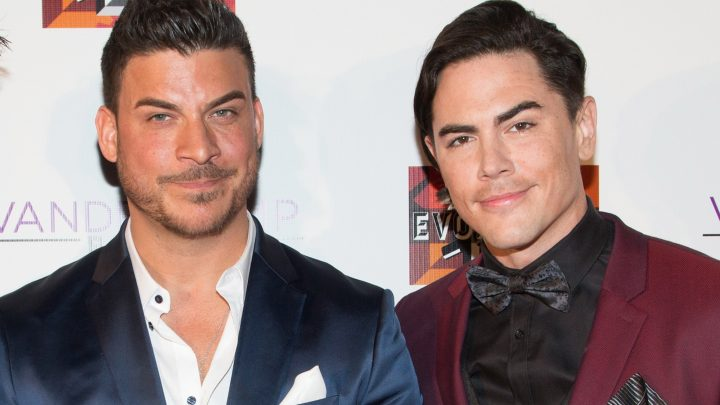 Jax Taylor and Tom Sandoval wear shoe lifts to look taller