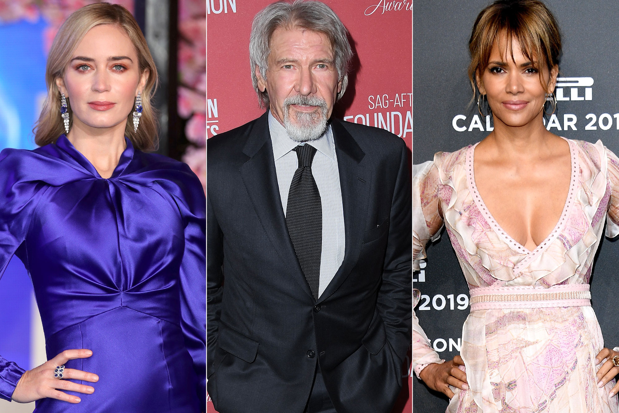 Golden Globes: Emily Blunt, Harrison Ford and Halle Berry Announced as Presenters at 2019 Show