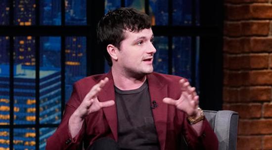 Josh Hutcherson Promotes New Season of 'Future Man' on 'Late Night' – Watch Here!