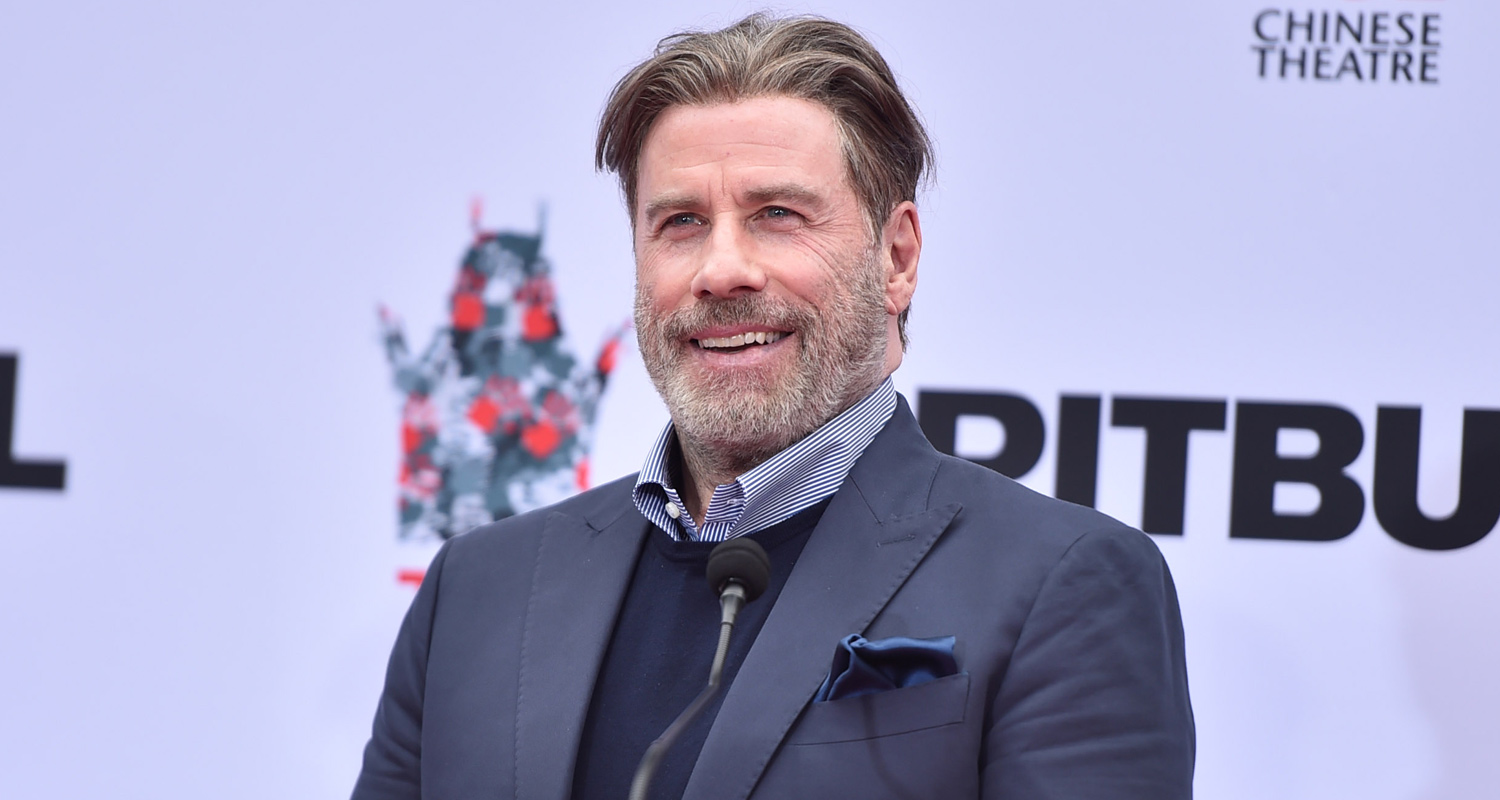 John Travolta Totally Shaves His Head – See His New Look!