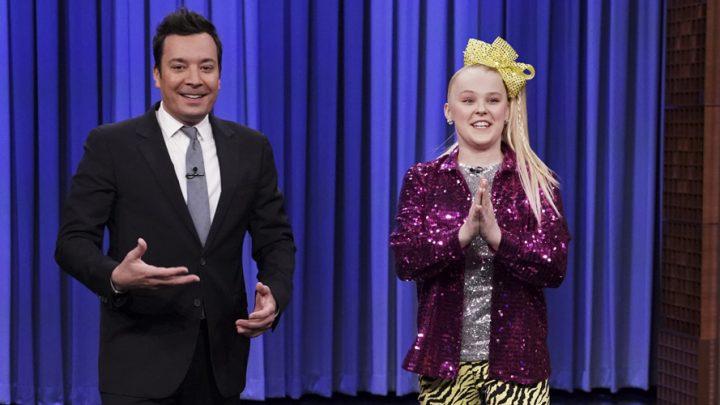 JoJo Siwa Has a Dance Off With Jimmy Fallon on 'The Tonight Show'