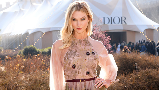 Karlie Kloss Flaunts Underbutt In Sheer Gown At Dior Haute Couture Show In Paris — See Pics