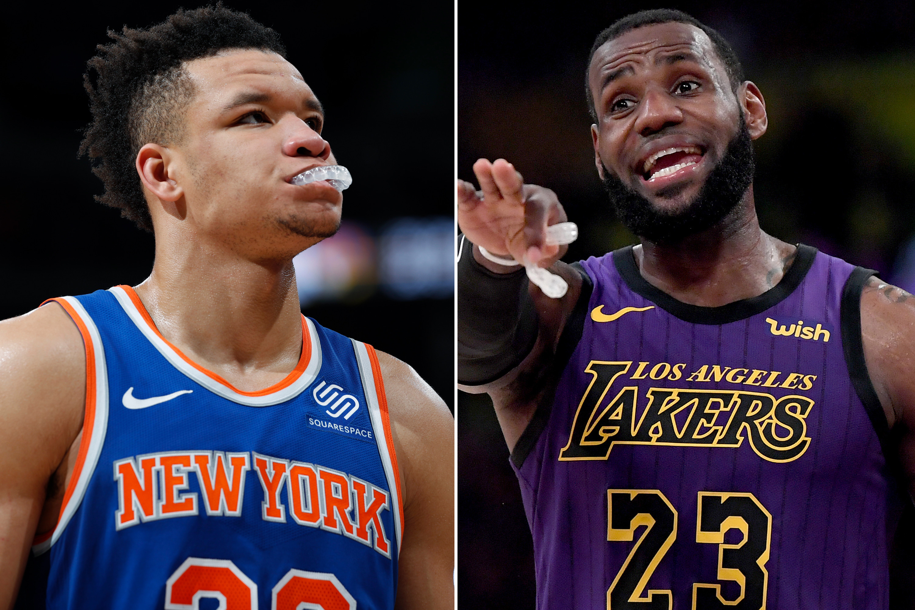 David Fizdale wants to call in LeBron favor for Kevin Knox