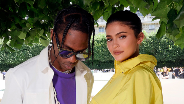 Kylie Jenner Kisses & Hugs Travis Scott During Their Vacation — See Pics