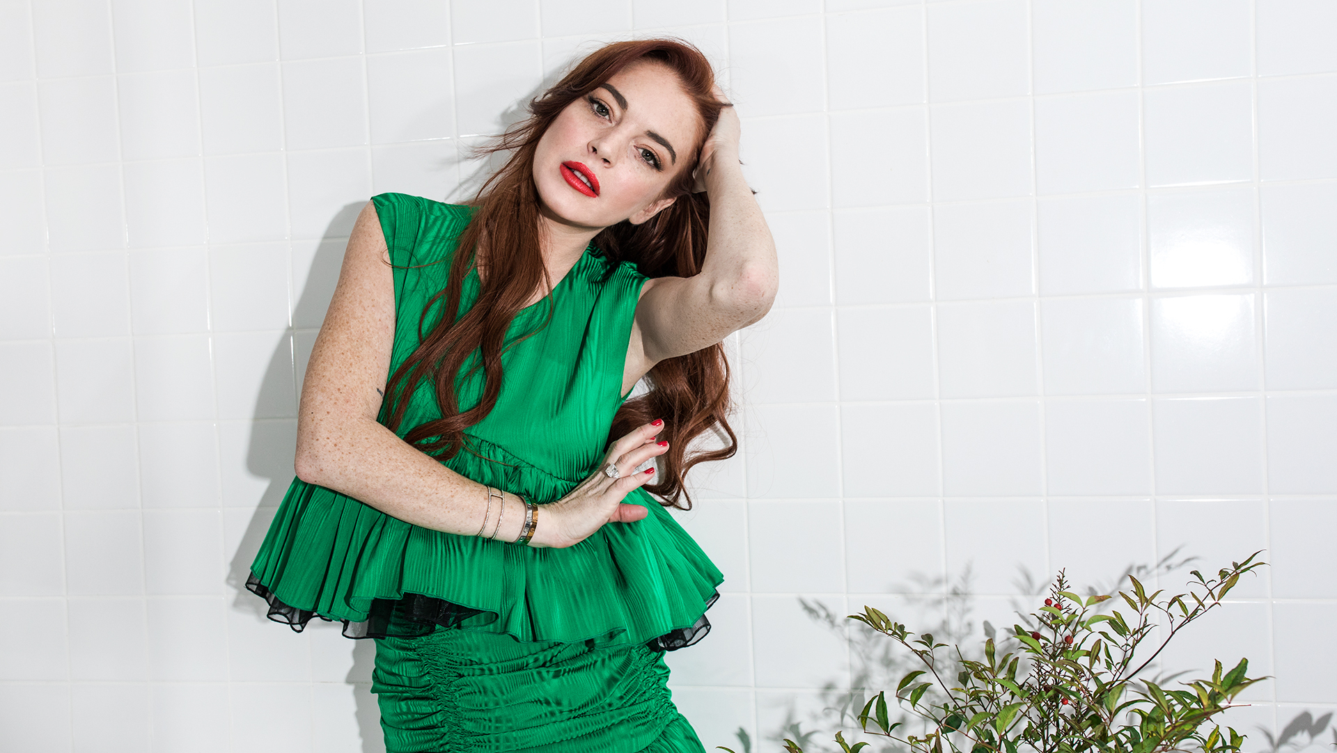 Lindsay Lohan Wants You to Forget Her Past