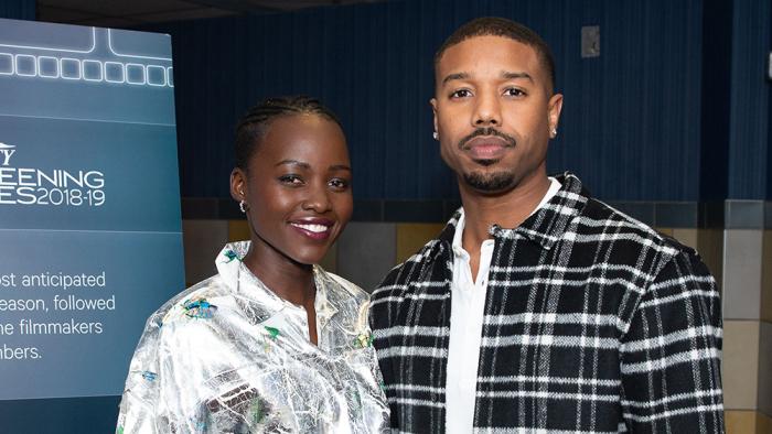 'Black Panther's' Michael B. Jordan and Lupita Nyong'o on Wakandan Women and 'Owning Your Identity'