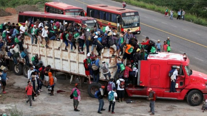Migrant Caravan Headed Toward US-Mexico Border Again