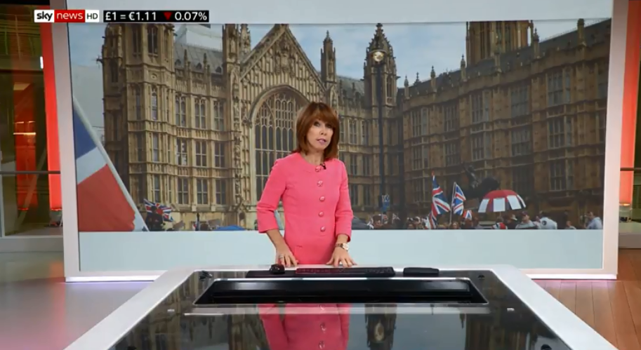 Sky's Kay Burley reveals fears of Jo Cox-style attack as broadcasters pull stars from outside Westminster after Anna Soubry 'Nazi' abuse