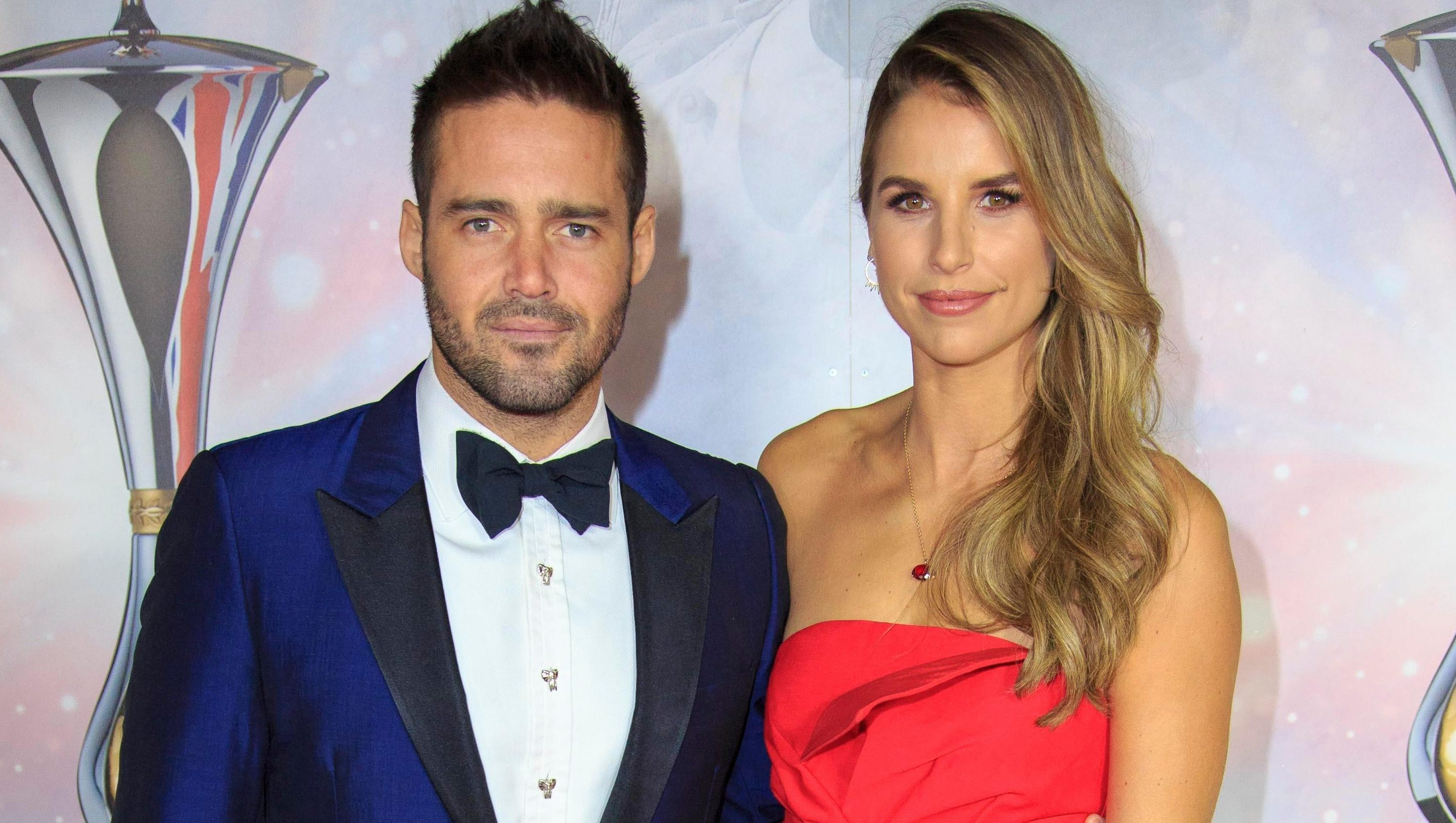 When did Vogue Williams and Spencer Matthews' have their baby, is it a girl or a boy and what's its name?