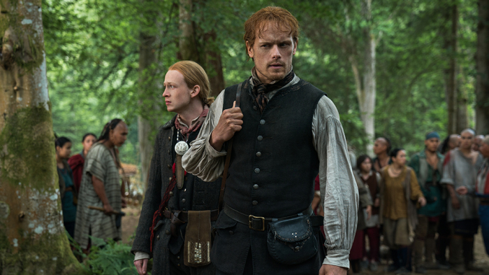 'Outlander' Finale Recap: Jamie, Roger and Ian Each Try to be a 'Man of Worth'