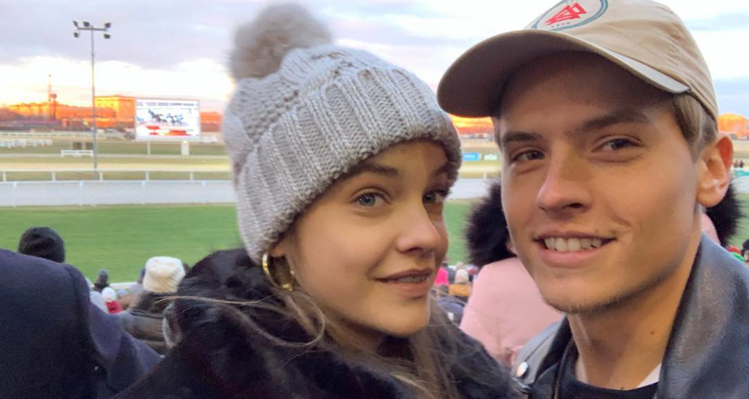 Barbara Palvin & Boyfriend Dylan Sprouse Spend New Year's Together in Budapest!