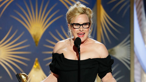Patricia Arquette Censored During Globes Acceptance Speech After Dropping 2 F-Bombs