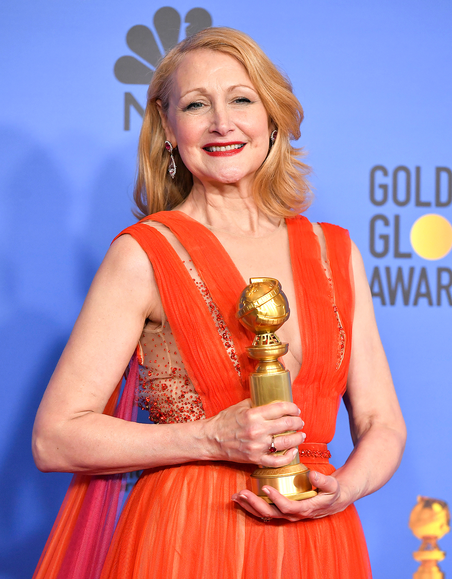 Patricia Clarkson Was Superstitious Before Golden Globes Win: 'I Won't Let Anybody Say Anything'