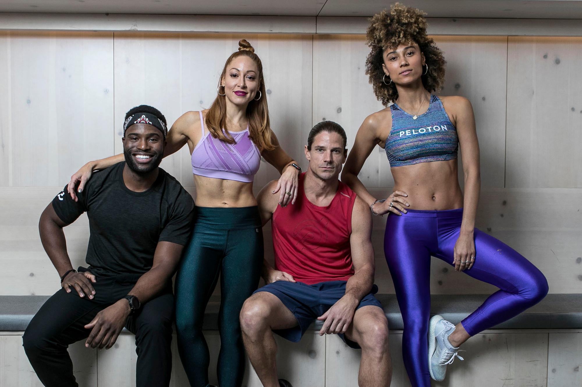 Meet the kickass Peloton instructors getting the world fit