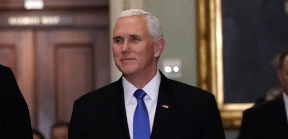 Pence Promises White House Will Stand 'Firm' Until They Get A Border Wall