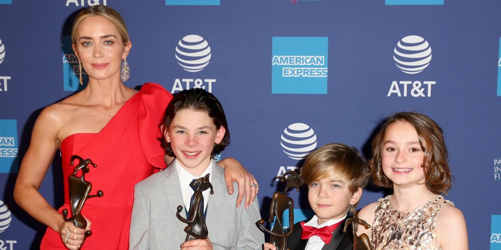 Mary Poppins Returns' Pixie Davies, Nathanael Saleh & Joel Dawson Receive First Award at Palm Springs Film Festival 2018