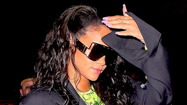 Rihanna Rocks Massive 'Fenty' Shades Sparking Rumors She's Launching An Accessories Line